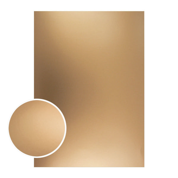 Mirror Foil Board - A4 Matte bronze 2# (10pc - 210gsm)