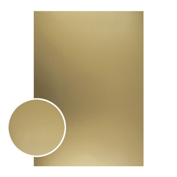 Mirror Foil Board - A4 Matte gold 2# (10pc - 210gsm)