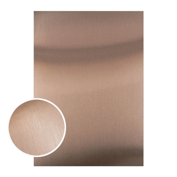 Mirror Foil Board - A4 Matte brown foil (10pc - 210gsm)