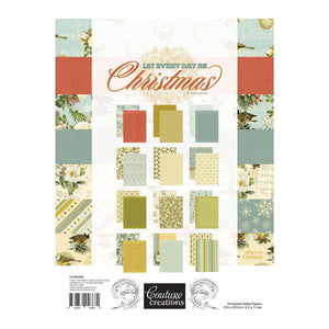Paper Pad - LE - Let Every Day Be Christmas A4 (24 dbl sheets)
