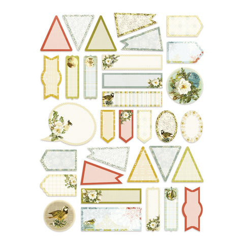 Stickers - LE - Mini Tags A4 (33pc)