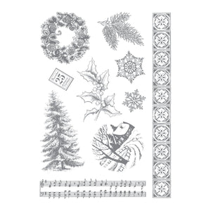 Stamp Set - LE - Silent Night 5x7