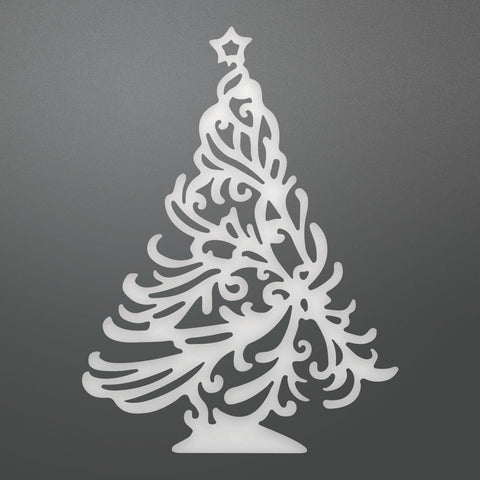 Die - LE - Holly Tree Decorative (1pc)