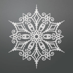 Couture Creations - Let Every Day Be Christmas - Snowflake Doily Die (1pc) (108 x 95mm | 4.2 x 3.7in) WH