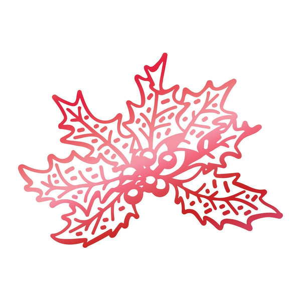 Hotfoil Stamp - LE - Christmas Holly (1pc)