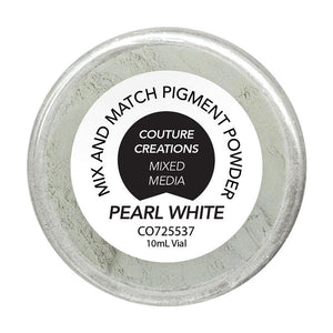 Couture Creations - Pearl White Mix and Match Pigment Vial (10g | 0.35oz each)