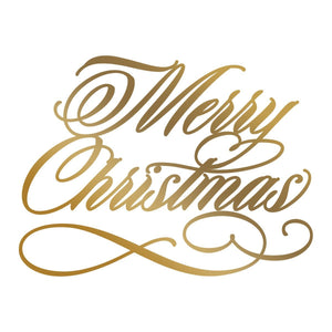 Hotfoil Stamp - AG - Merry Christmas