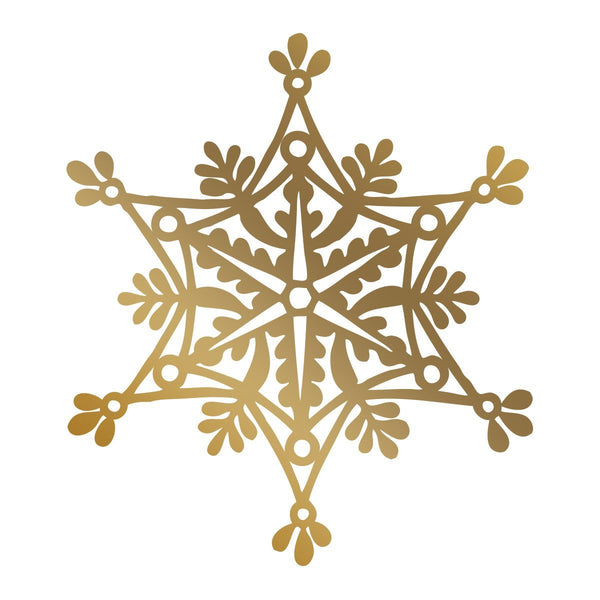 Anna Griffin - Snowflake Hotfoil Stamp (70 x 80mm | 2.7 x 3.1in)