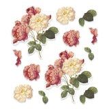 EM - CLV - Deep Rose A4 Decoupage Sheets (12pc)