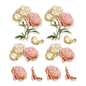 EM - CLV - Light Rose A4 Decoupage Sheets (10pc)