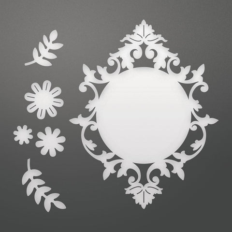 Die - CLV - Flowers and Frame Set (6pc)