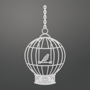 Couture Creations - C'est La Vie Bird Cage Decorative Die (1pc) WH