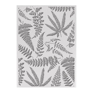 Couture Creations - C'est La Vie Ferns Embossing Folder WH