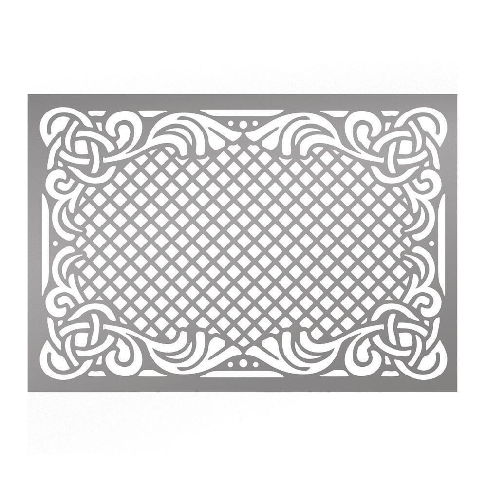 Couture Creations - C\'est La Vie Intricate Frame Stencil WH – Hobby ...