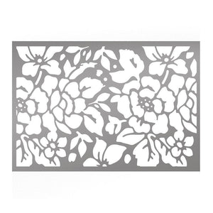 Stencils - CLV - Rosy Background