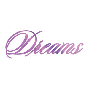 Hotfoil Stamp - ES - Dreams Sentiment