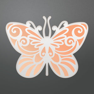 Couture Creations - Nouveau Die, Foil and Emboss Die Nouveau Butterfly