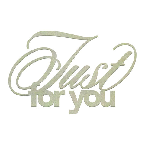 Chipboard - CO - Just for You (1pc)
