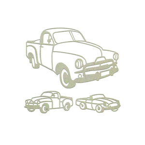 Chipboard - Aussie Vehicles Set (3pc)
