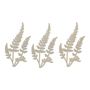 Chipboard - CLV - 3 Ferns Set (3pc)