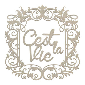 Chipboard - CLV - Framed C'est La Vie Set (2pc)