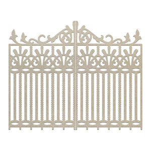 Chipboard - CLV - Wrought Iron Gate (2pc)