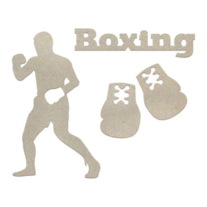 Chipboard - Boys - Boxing Set (4pc)