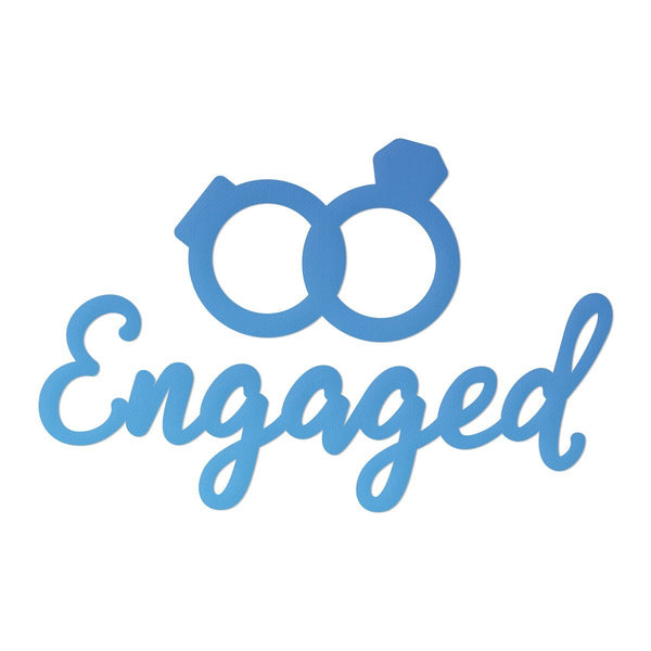 Die - Mini - Rel 2 - Engaged Sentiment & Rings (2pc)