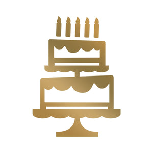 Mini Hotfoil Stamp Set - ABR - Tiered Cake (1pc)