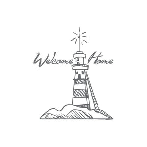 Couture Creations Seaside and Me Collection - Welcome Lighthouse WH