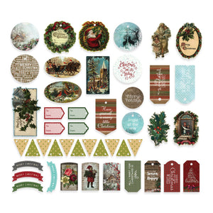 Couture Creations - Highland Christmas Diecut Ephemera Set