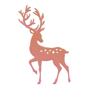 Couture Creations - Highland Christmas Reindeer Mini Die (1 pc)