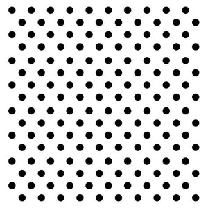 Couture Creations - 3D Foam Black Mini Dots (360 pcs)  WH