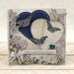 Modern Essentials Collection Cut, Foil and Emboss - Nesting Hearts