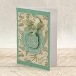 Modern Essentials Collection Cut, Foil and Emboss - Decorative Nesting Circular Flourished Frames WH