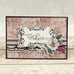 Modern Essentials Collection Cut, Foil and Emboss - Decorative Nesting Rectangular Flourished Frames | Couture Creations