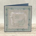 Modern Essentials Collection Cut, Foil and Emboss - Decorative Nesting Butterfly Frames WH