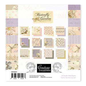 Couture Creations Butterfly Garden Collection - 6 x 6 Paper Pad | Couture Creations