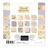 Couture Creations Butterfly Garden Collection - 6 x 6 Paper Pad WH | Couture Creations