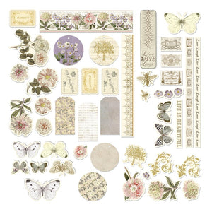 *Pre-Order* Couture Creations Butterfly Garden Collection - Die Cut Epehmera Set WH