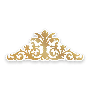 Couture Creations Butterfly Garden Collection - Ornate Centrepiece Cut, Foil and Emboss Die WH