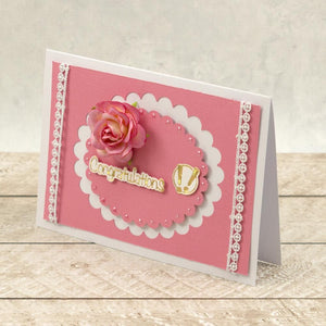 Congrats! Sentiment Mini Cut, Foil and Emboss Dies (3pc)