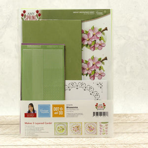 Dot & Do 3D Push Out Kit by Amy Spring Design - Blossom | Couture Creations