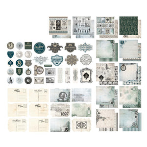 *Pre-Order* Paper Pad - Gentlemans Emporium - Stickers, Postcards and Papers