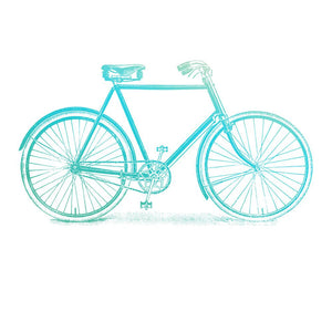 *Pre-Order* Mini Stamp - Gentlemans Emporium - Bicycle (1pc)
