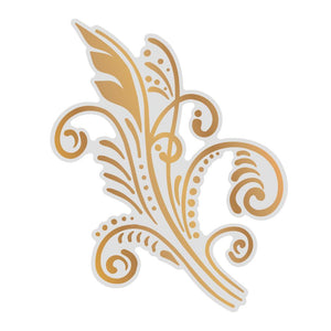 *Pre-Order* Cut, Foil and Emboss Die - Gentlemans Emporium - Art Deco Flourish (1pc)