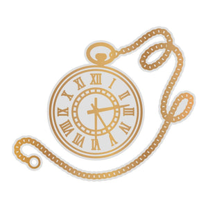 *Pre-Order* Cut, Foil and Emboss Die - Gentlemans Emporium - Pocket Watch (1pc)