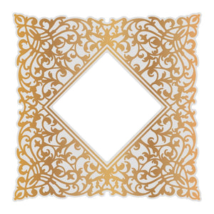 Cut, Foil and Emboss Die - Gentlemans Emporium - Ornate Background (1pc) | Hobby Craft and Scrap