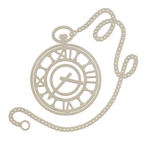 *Pre-Order* Chipboard - Gentlemans Emporium - Pocket Watch (1pc)