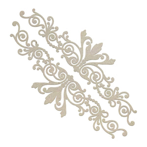 Chipboard - Gentlemans Emporium - Gentlemans Borders Set (2pc)